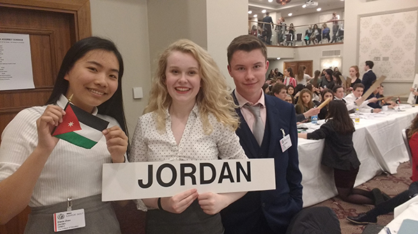 Model united nations candidates